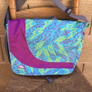 High Sierra Laptop Bag Lightening Bolt Pattern